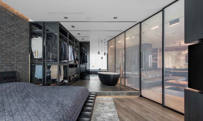Дизайн интерьера квартиры-студии от 33bY Architecture