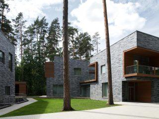 Два дома с красивым фасадом в Московской области от ДНК Аг