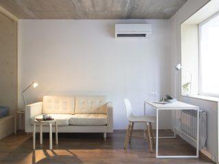 Однокомнатная квартира на 33 кв.м. в Приморье