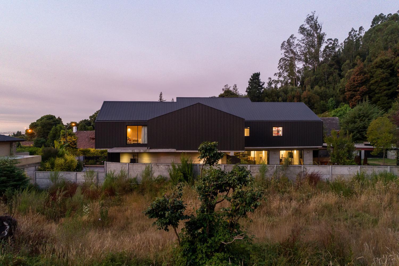 Villuco House в Чили от DX Arquitectos