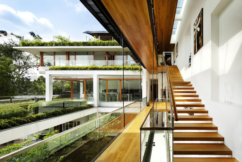 Особняк Dalvey Road House в Сингапуре