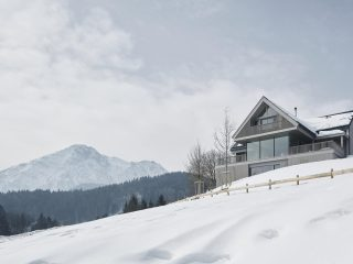 Домик в горах Австрии
