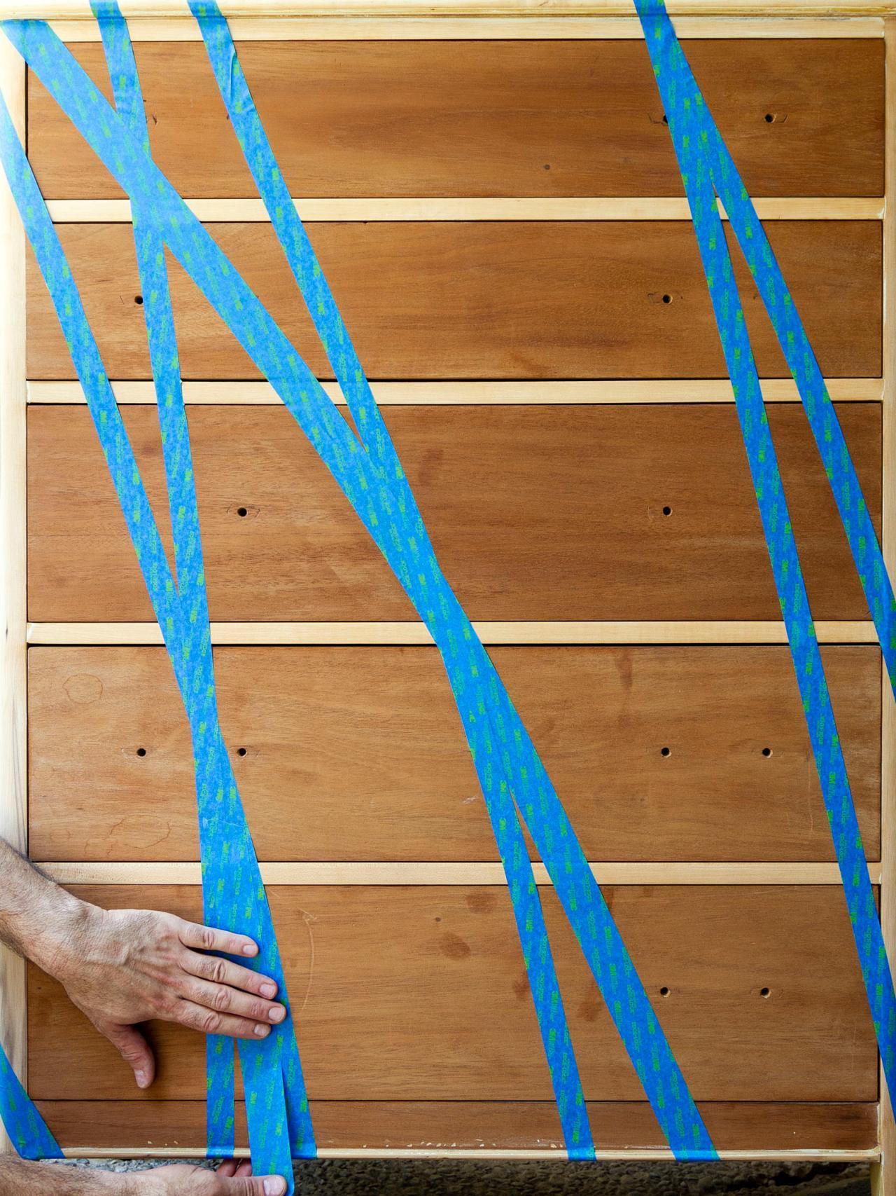 Как обновить комод своими руками - создаем дизайн рисунка