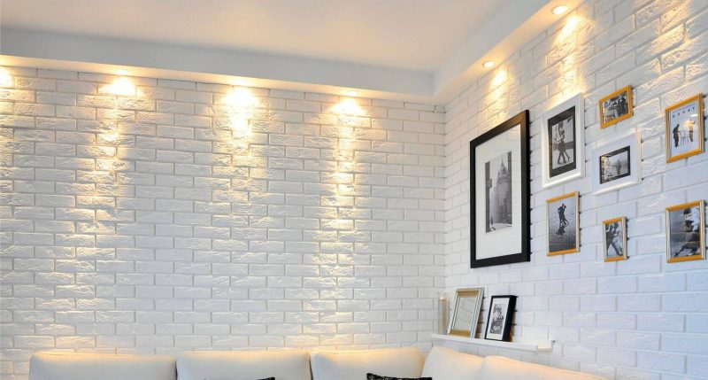 Декоративная стена своими руками