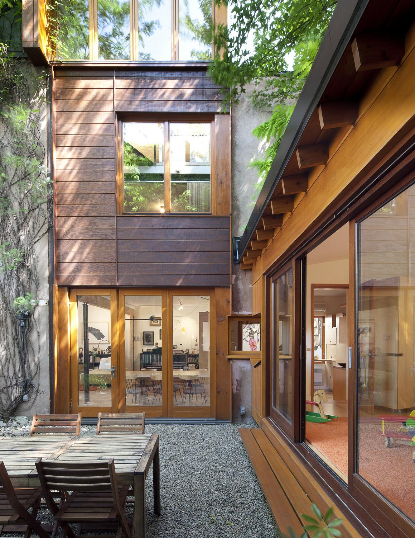 Семейная резиденция от Paul Bernier Architecte