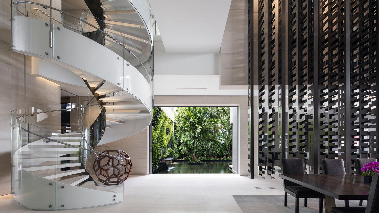 Особняк Dilido House в Майами от SAOTA