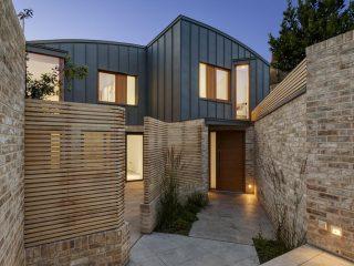 Дизайн двухэтажного дома в Лондоне