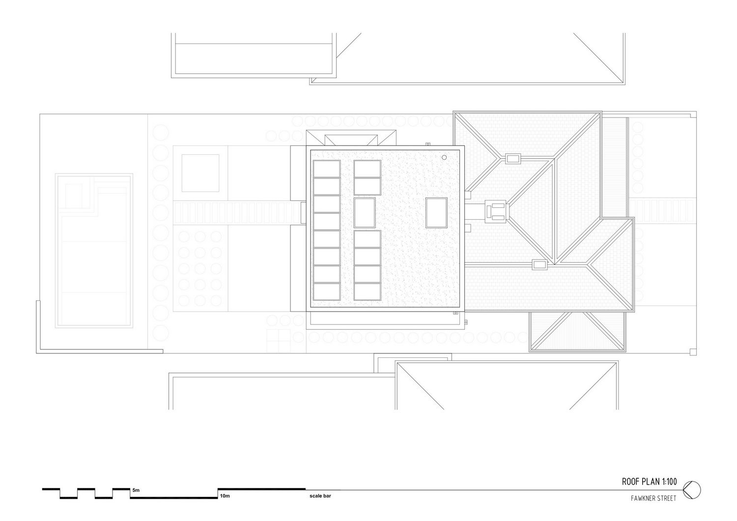 Fawkner Street House в Австралии от Workshop Architecture