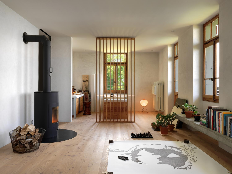 Старинный дом в Монтрё от Ralph Germann architectes