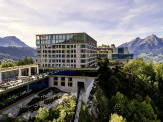 Отель Burgenstock в Швейцарии