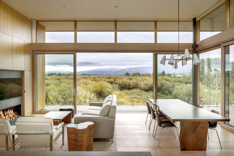 Резиденция Teton от RO | ROCKETT DESIGN