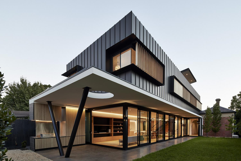 Современный дом в Австралии от McSteen Tan Architects