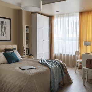 Дизайн двухкомнатной квартиры в ЖК на Мельникова