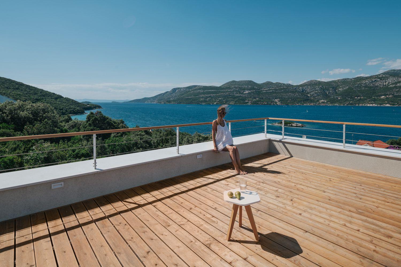 Гостевой дом на острове Корчула в Хорватии