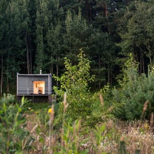 Крошечный дом на 14 кв.м. в Литве