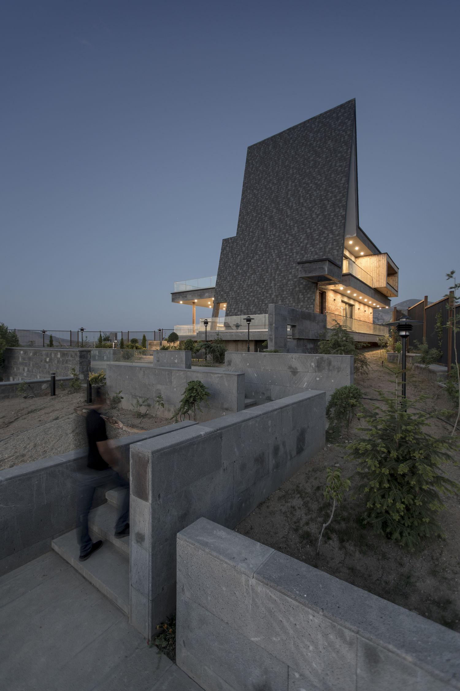 Вилла Magush в Иране от White Cube Atelier