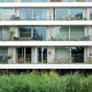 Жилой комплекс Klencke с живыми террасами в Амстердаме