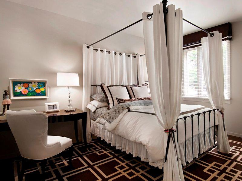 Современный балдахин над кроватью своими руками