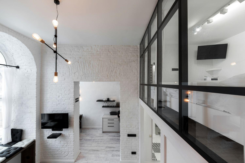Двухэтажные апартаменты во Львове