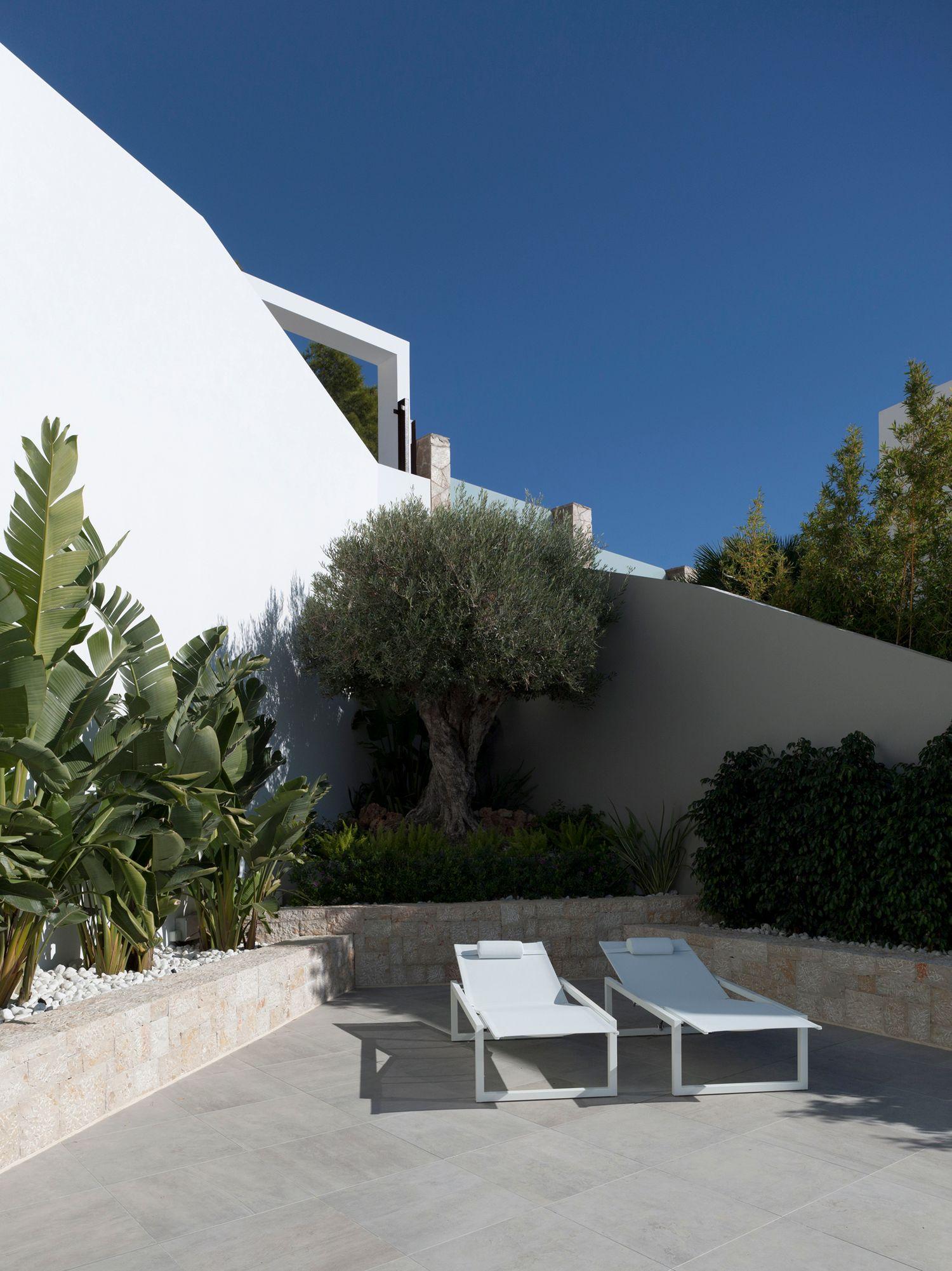 Испанская вилла с потрясающим видом на Средиземное море