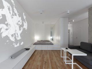 Квартира для молодой пары на 45 кв.м.