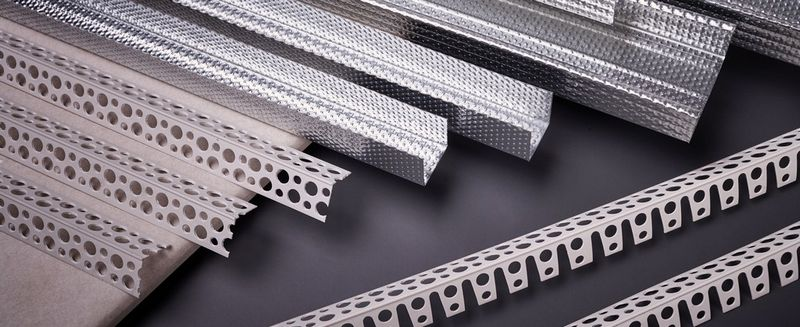 ГКЛВ – влагостойкий гипсокартон - металлические профили