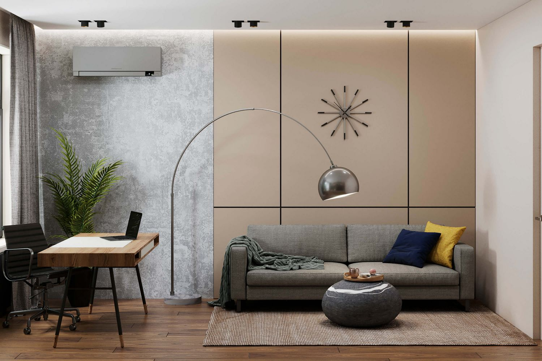 Интерьер 3-этажного дома в Химках