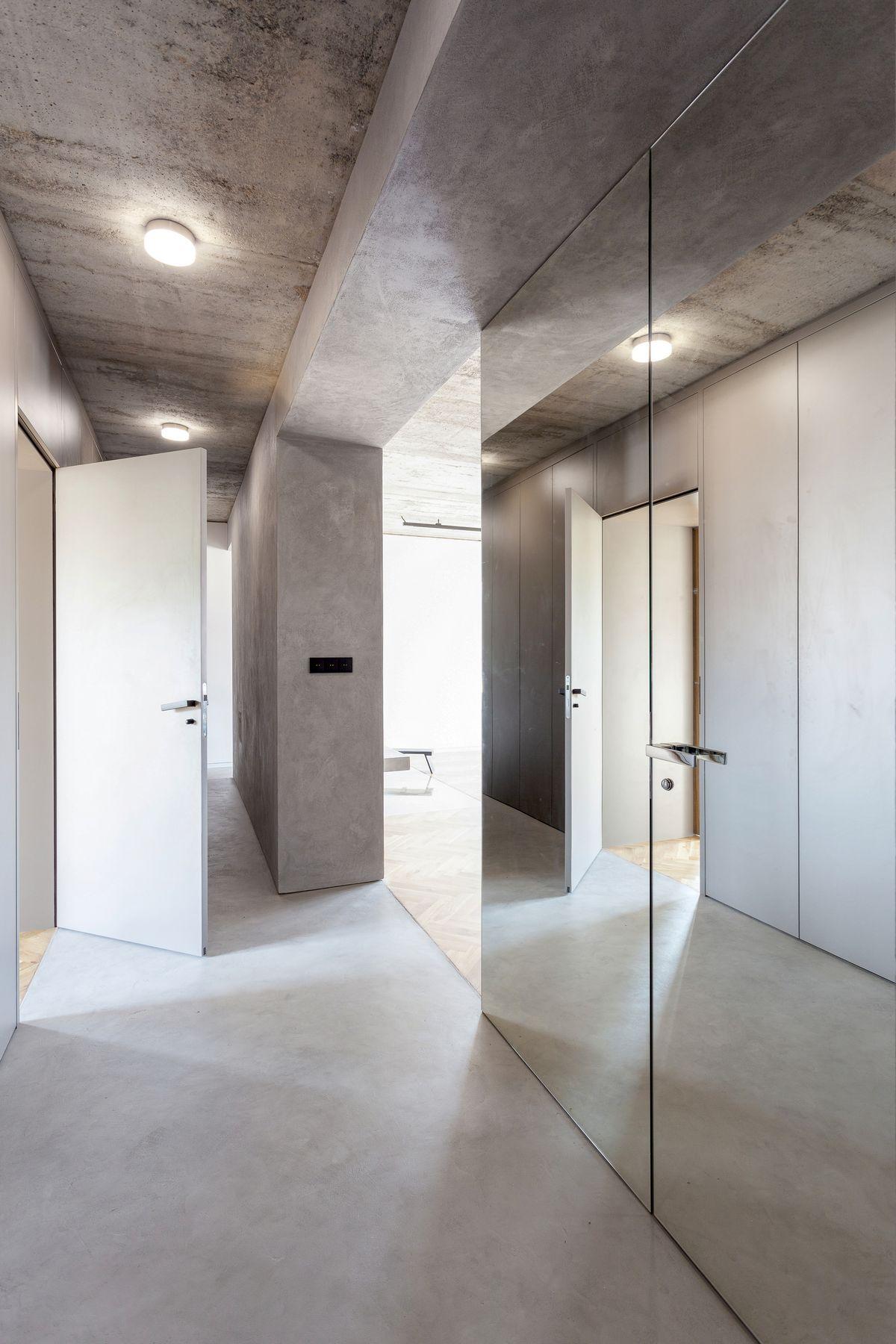 Квартира в стиле минимализма в Праге