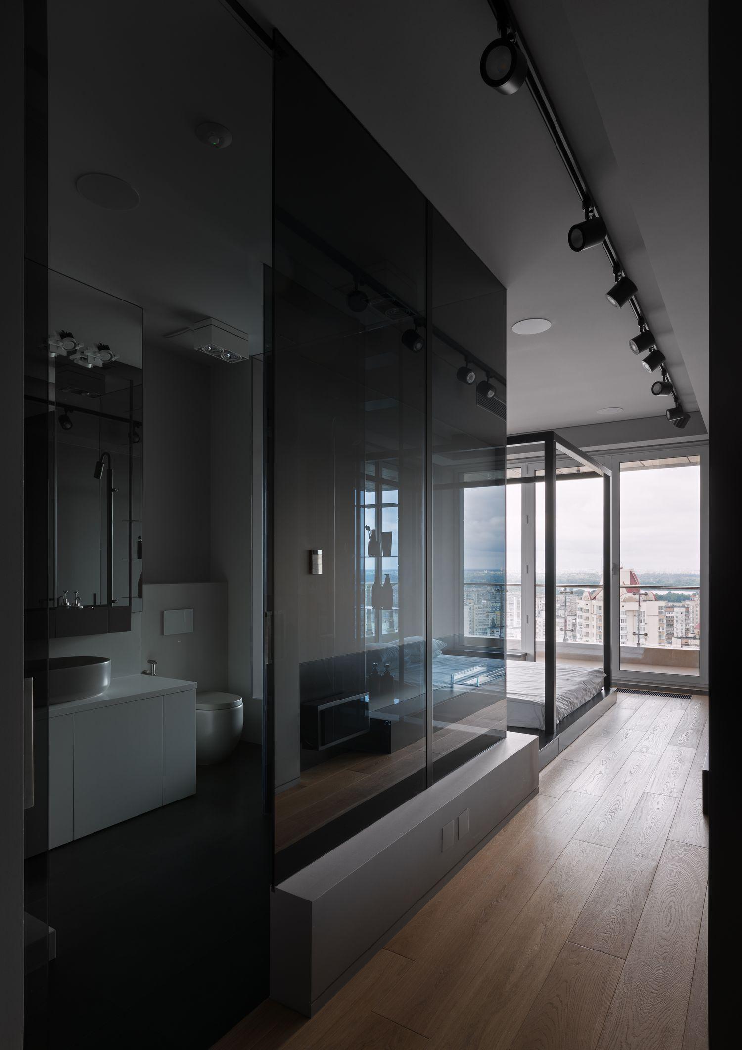 Минимализм в квартире площадью 130 кв. метров