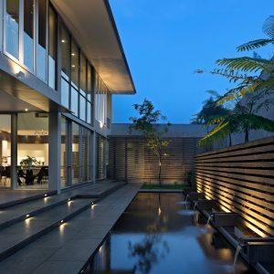 Особняк на 800 кв. метров в Индонезии