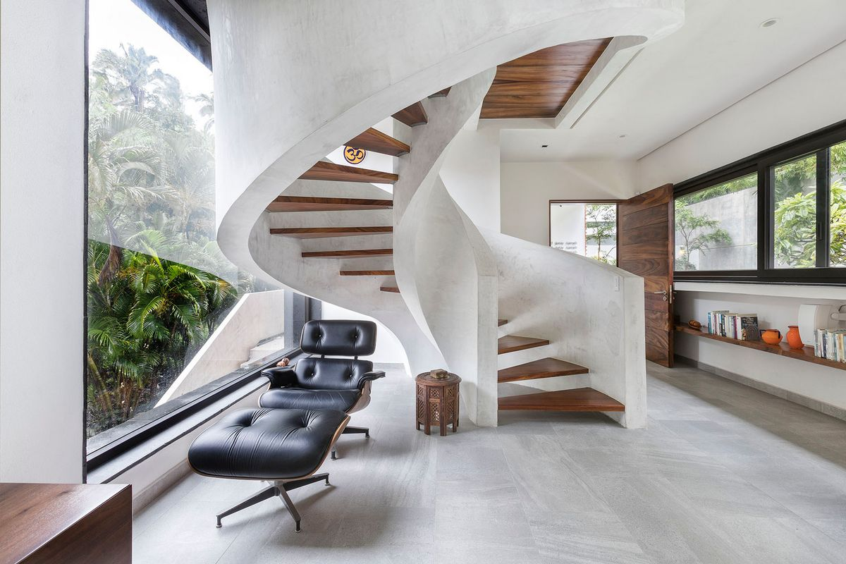 3-этажный дом в Мексике от RVO Studio