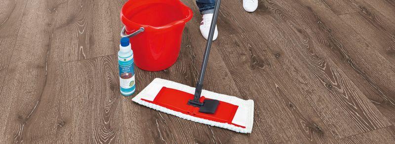 Рекомендации по влажной уборке ламината