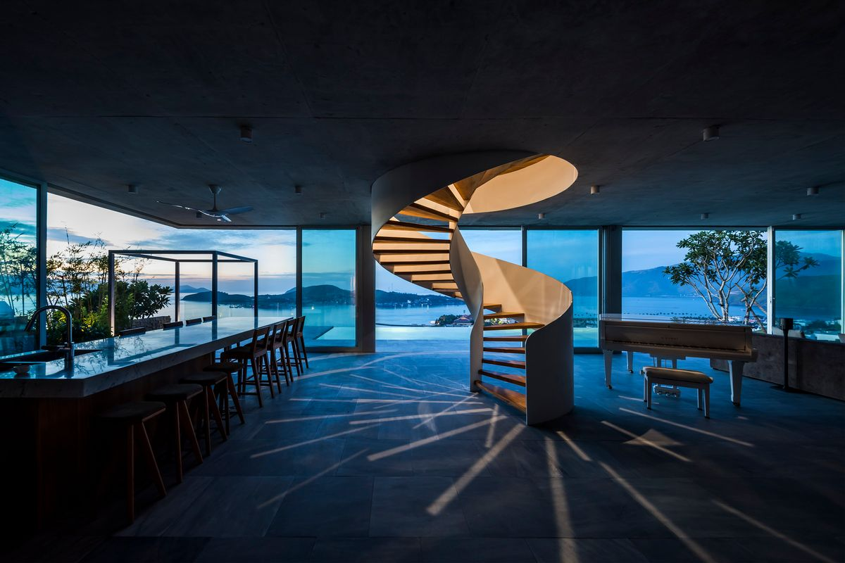 Роскошный дом во Вьетнаме с видом на залив и горы