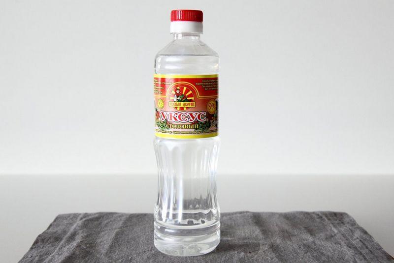 Универсальный рецепт без лишней химии - столовый уксус