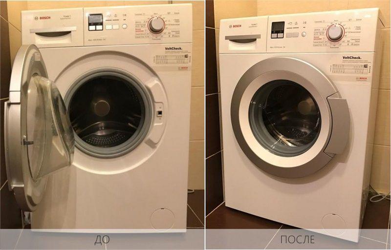 Как правильно чистить стиральную машину - ДО и ПОСЛЕ