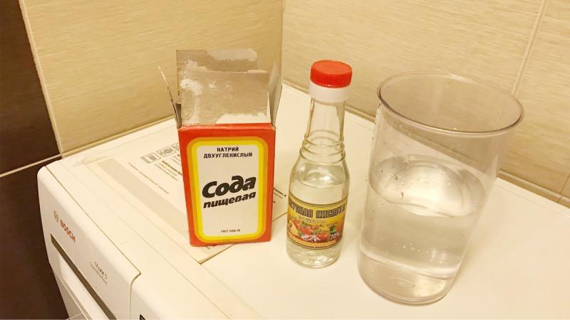 Как правильно чистить стиральную машину - сода и уксус для чистки стиральной машины