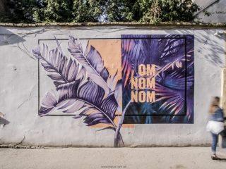 Стильное веганское кафе OMNOMNOM во Львове