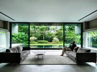 4-этажный дом в Сингапуре