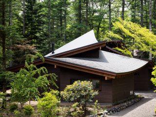 Вилла в японском стиле в лесах Нагано