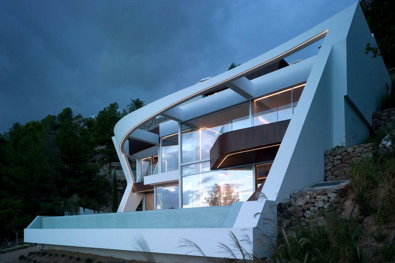 Проект особняка в Испании