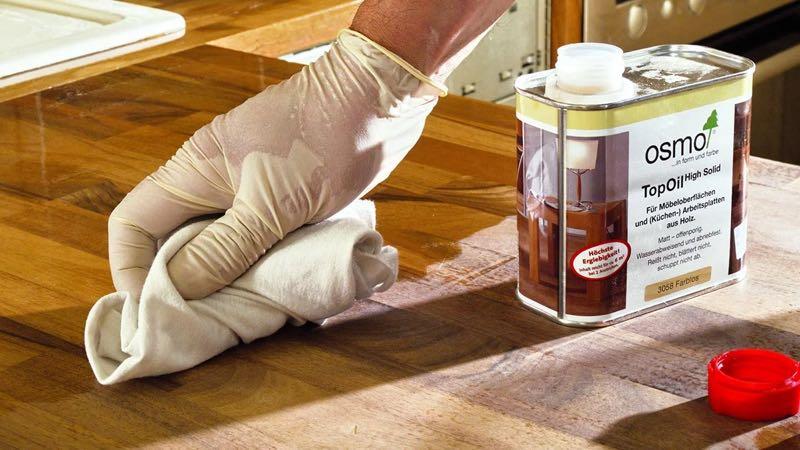 Масляная полироль - убрать царапины на мебели