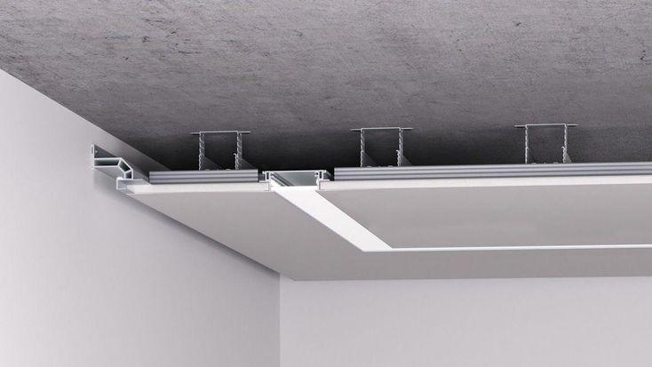 Как установить светильник в гипсокартон 2