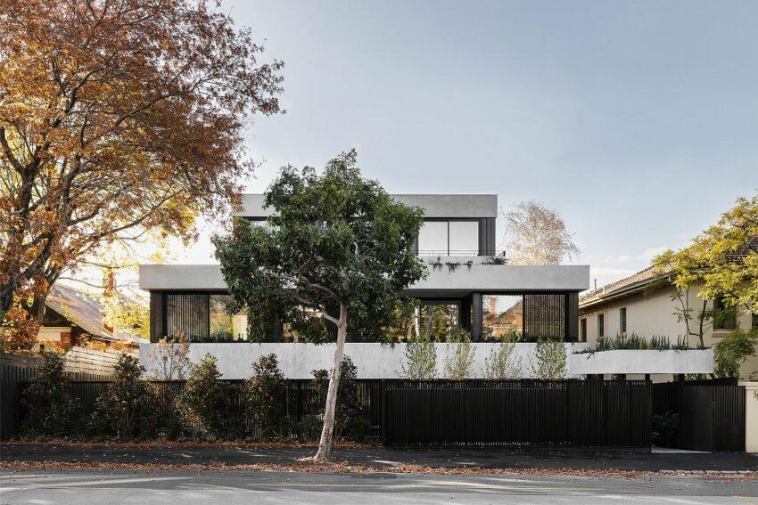 Небольшой многоквартирный дом в Мельбурне