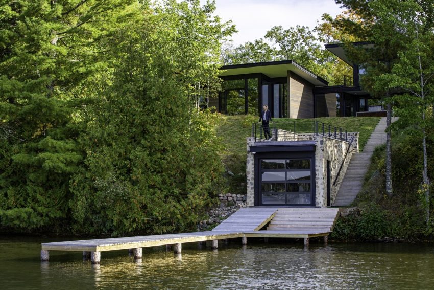 The Camp Spirit Lake House Offers Nature, Fun, and Privacy